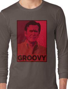 ASH WILLIAMS GROOVY (Ash vs Evil Dead) Long Sleeve T-Shirt