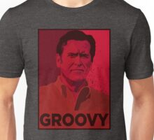 ASH WILLIAMS GROOVY (Ash vs Evil Dead) Unisex T-Shirt