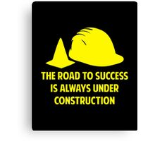 The Road To Success Canvas Print