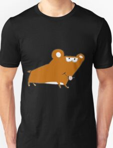 Willy the Hamster taking a walk Unisex T-Shirt