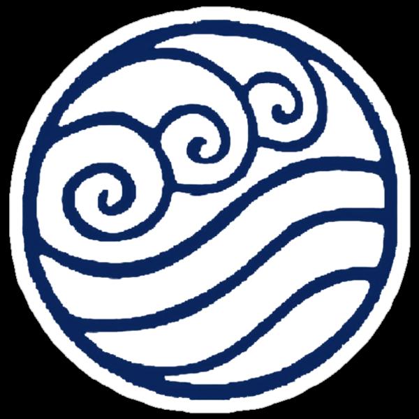 "Water Tribe Symbol"" Stickers by zatanna103   Redbubble"