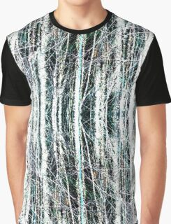 abstract wood Graphic T-Shirt