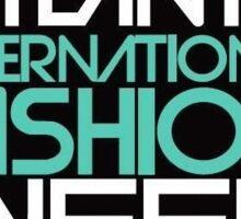 Atlanta International Fashion Week Logo Sticker