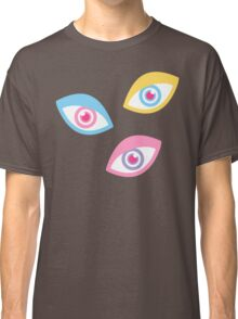 Black Teichopsia Eyes Classic T-Shirt