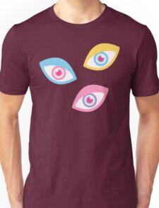Black Teichopsia Eyes Unisex T-Shirt