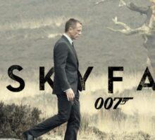 Skyfall 007 Sticker