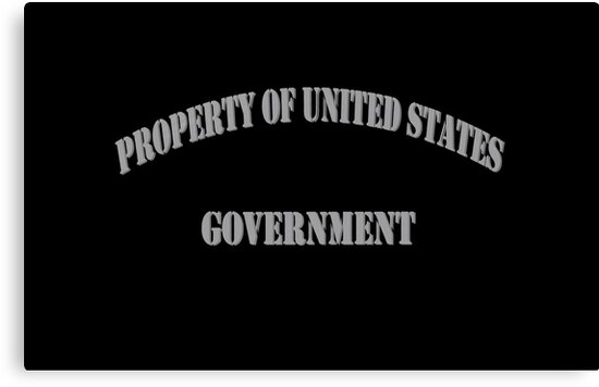 Property of US Government by Charles McFarlane