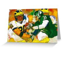 Rivals in State Greeting Card