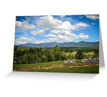 Lunch at the Mount Washington Greeting Card
