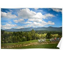 Lunch at the Mount Washington Poster