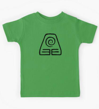 Earth Kingdom Symbol Kids Tee