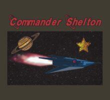 Commander Shelton - Rocket by perilpress