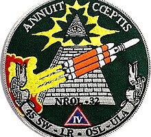 NROL 32 Launch Team Logo by Spacestuffplus