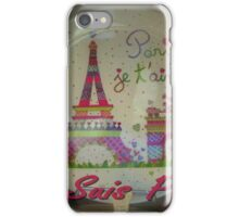 Je Suis Paris ~ 11/13/2015 iPhone Case/Skin