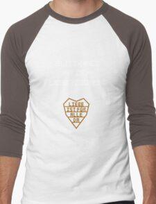 Blitzkrieg mit dem Fleischgewehr Men's Baseball ¾ T-Shirt