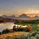 Snake River at Grand Tetons by steini