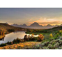 Snake River at Grand Tetons Photographic Print