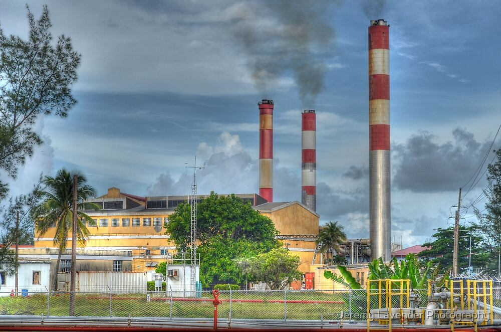 Power Plant at Clifton Pier in Nassau, The Bahamas by Jeremy Lavender Photography