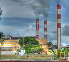 Power Plant at Clifton Pier in Nassau, The Bahamas by 242Digital
