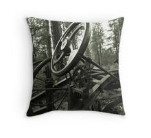 cold steal Throw Pillow