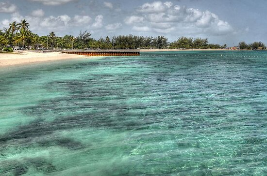 Junkanoo Beach in Nassau, The Bahamas by 242Digital