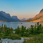 Wild Goose Island, Glacier National Park by JimGuy