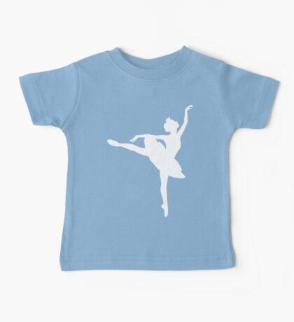 Ballerina (white) Baby Tee