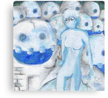 Frozen Army Canvas Print