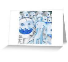 Frozen Army Greeting Card