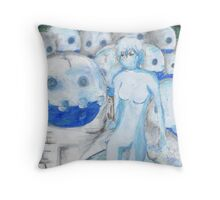 Frozen Army Throw Pillow