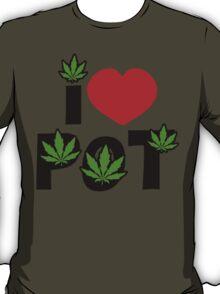I Love Pot T-Shirt