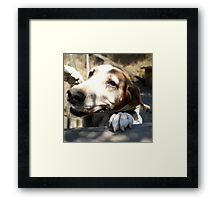 Old in Body But Young in Spirit Framed Print