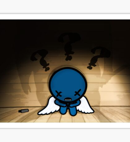 The Binding of Isaac - ??? (Blue Baby)  Sticker