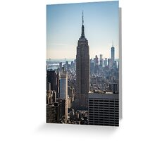 Empire State Building Skyline Greeting Card