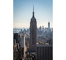 Empire State Building Skyline Photographic Print
