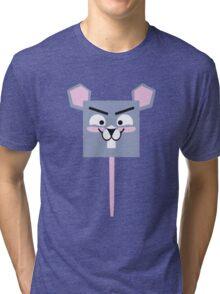 Cute Tiny Mouse Tri-blend T-Shirt