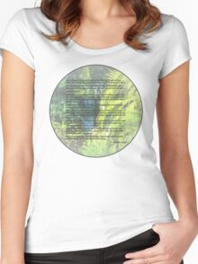 Genesis 1 24-31  Let the earth bring forth the living creature Women's Fitted Scoop T-Shirt