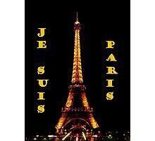 Je Suis Paris ~ 11/13/2015 Photographic Print