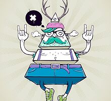 Triangle Hipsta by Vecster