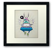 Triangle Hipsta Framed Print