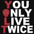 Red Hood: You Only Live Twice by veryberry