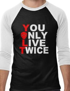Red Hood: You Only Live Twice Men's Baseball ¾ T-Shirt