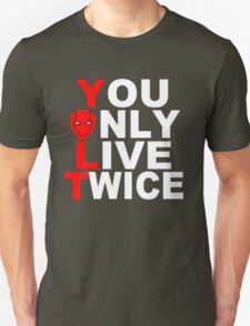 Red Hood: You Only Live Twice Unisex T-Shirt