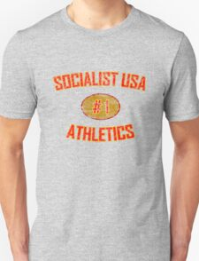 SOCIALIST USA ATHLETICS #1 T-Shirt