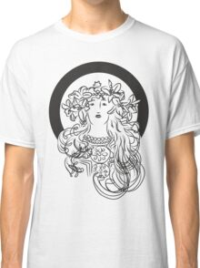 Alphonse Mucha Inspiration Classic T-Shirt