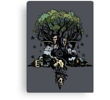 True Detective - The Tree Canvas Print