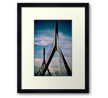 Boston Bridge Framed Print