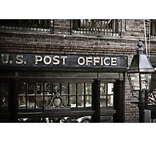 US Post Office Photographic Print