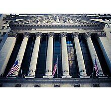 NYSE - 2 Photographic Print