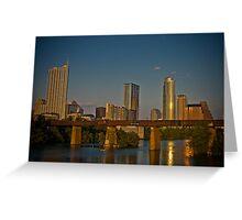 Austin at Sunset Greeting Card